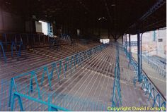 Photos of the old St Andrews football ground, Birmingham City FC before redevelopments in the The page also includes some historical facts about the football ground itself. Birmingham City Fc, Football Pictures, Football Stadiums, St Andrews, Blue Walls, Real People, Great Britain, Terrace, Past