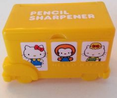Vintage 1976 Sanrio Hello Kitty Pencil Sharpener