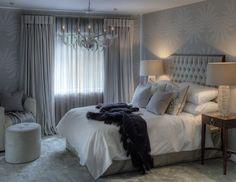 Resultado de imagen de bed grey decor