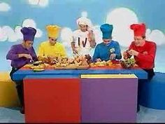 The Wiggles singing a Real Favorite..Fruit Salad!
