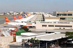Aeroporto de Congonhas, São Paulo | Terceiro aeroporto mais movimentado em número de passageiros e em número de aeronaves do Brasil