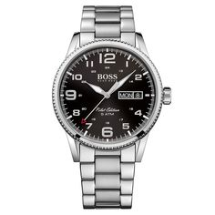 Nice Hugo Boss Pilot Vintage Bracelet Silver Watch | 1513327 just added...