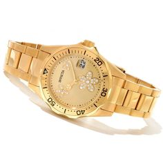 Invicta Women's Angel Diver Stainless Steel Watch w/ Collector's Box 12508 - a wonderful collector item for ladies.