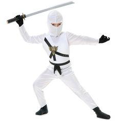 White Ninja Child Costume