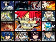 fairy tail birthday scenario - Google Search This is freaking awesome! I. Am. A. DRAGON!! Please comment below. I'd really like to know.