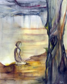 """Solace  - Large Ltd Edition Archival Print 1/10"" by Kylie Fogarty. Paintings for Sale. Bluethumb - Online Art Gallery"