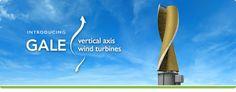 GALE Vertical Axis Wind Turbine