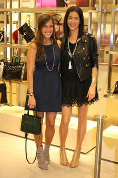Rebecca Minkoff at Saks Fifth Avenue & my exclusive interview