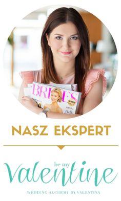 Valentina has her own column as a wedding expert on SweetWedding.pl - blog for the coolest brides / Valentina jest ekspertem ślubnym dla SweetWedding.pl - bloga dla najfajniejszych Panien Młodych