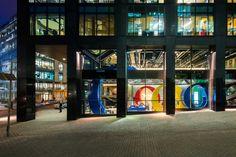 Google docks (Dublin Headquarter) from the outside