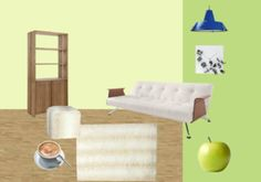 apple green interior Couch, Apple, Interior, Green, Furniture, Home Decor, Apple Fruit, Settee, Decoration Home