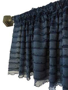 blue valance curtains for bathroom Large Window Curtains, Tie Up Curtains, Unique Curtains, Plaid Curtains, Nursery Curtains, Custom Curtains, Bathroom Curtains, Country Curtains, Valance Window Treatments