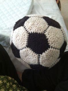 Free Soccer Ball Crochet Pattern Beginner to Intermediate Crochet Pattern by Sarita Kumar Available on Ravelry as PDF download here ...