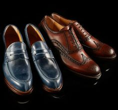 Antonio Maurizi Oxford Brogues, Oxford Shoes, Men's Shoes, Dress Shoes, Business Casual Men, Leather Cap, Loafers, Oxfords, Gentleman Style