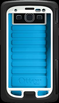 The OtterBox Armor Series Waterproof Case For Galaxy S3 - Arctic (Blue)