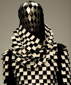 The Grid. #sacredshapes Gareth Pugh  www.fashion.net