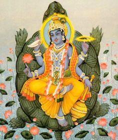 Kurma - avatar of Vishnu, a turtle Mysore Painting, Tanjore Painting, Krishna Art, Krishna Images, Shiva Photos, The Last Avatar, Lord Vishnu Wallpapers, Ganesha Painting, Gautama Buddha