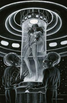 thevaultofretroscifi: Aliens, Bubbles and Babes ~ Greg Hildebrandt