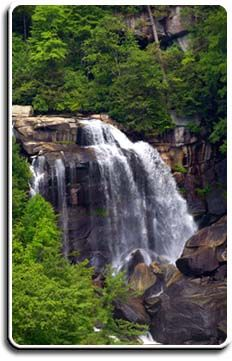 Lake Toxaway, Blue Ridge Mountains Motorcoach Resort, NC We will have to put NC on our wish list Mountain Waterfall, Waterfall Hikes, North Carolina Mountains, North Carolina Homes, Vacation Destinations, Vacation Spots, Amazing Photos, Cool Photos, Blue Ridge Mountains