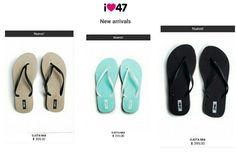 Si hablamos de verano no nos olvidemos del calzado. Simples y delicadas, con eso tan refrescantes colores.47 Street new arrivals. Sitio http://www.47street.com.ar/store/new-arrivals.html