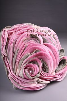 composite wedding bouquet from lilies from Svetlana Lunin