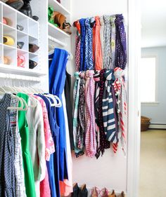10 Genius Ways to Double Your Closet Space and Get Ready Faster | With these strategies up your sleeve, your bedroom closet will feel surprisingly spacious.
