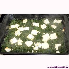 schneller Spinat-Feta-Teller der Spinat-Feta-Teller ist nicht nur lecker, sondern schnell und einfach gemacht und die Zutaten kann man immer auf Vorrat daheim haben vegetarisch glutenfrei