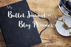 Bullet Journal Blog Planner - The House of Plaidfuzz