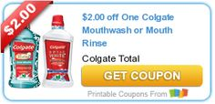 $2.00 off One Colgate Mouthwash or Mouth Rinse