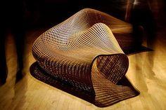 Matthias Pliessnig Steam Bends Strips of Wood into Stunning Sculptural Seats