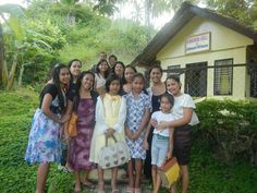 Sisters from the Philippines _ Before the Hurricane. Some of the Witnesses were killed. Our brothers are there helping them with the disaster.