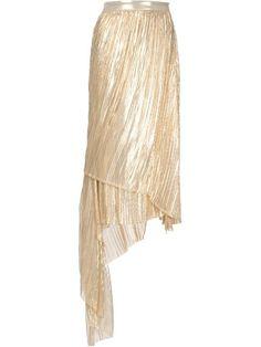 Adam Lippes asymmetric wrap skirt