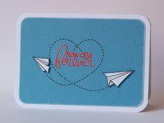 Mias zaubereien: Hochzeitskarten-Serie #5