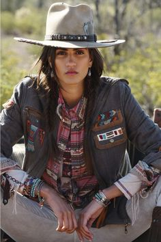 Frontier Trapper Hat - Double D Ranch Cowgirl Mode, Estilo Cowgirl, Cowgirl Chic, Cowgirl Style, Gypsy Cowgirl, Western Style, Moda Country, Country Girls, Looks Country