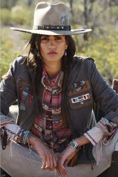 Frontier Trapper Hat - Double D Ranch Estilo Cowgirl, Cowgirl Chic, Cowgirl Style, Cowgirl Fashion, Gypsy Cowgirl, Western Girl, Western Wear, Western Style, Western Boots