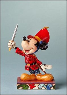 *MICKEY ~ Jim Shore Disney Traditions Mickey As The Nutcracker Jim Shore brings The Nutcracker to you in his Disney Traditions collection! Specifications: Size: x x Materials: Stone Resin Note: Unique variations should be expected; Mickey Mouse, Disney Mickey, Disney Pixar, Walt Disney, Disney Characters, Disney Love, Disney Stuff, Disney Traditions, Precious Moments Figurines