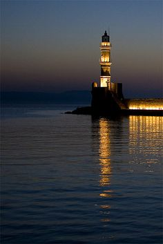 TRAVEL'IN GREECE I Chania lighthouse, #Crete, #Greece, #travelingreece