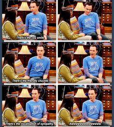 The Big Bang theory - the big three of social interaction