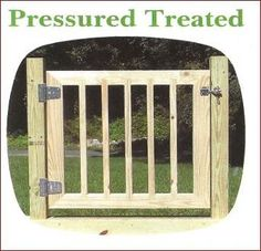 how to build a deck gate - Google Search