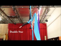 Double Star Drop - Aerial Silk Tutorial - with Aerial Physique - YouTube