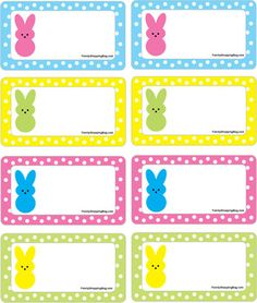 Free printable hoppy easter gift tags classroom treats hoppy gift tags peeps easter gift tags free printable ideas from family shoppingbag negle Choice Image