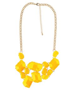 Neon f21 necklace
