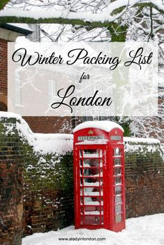 If you're traveling to the UK in winter, here is my essential winter packing list for London. You'll be glad you brought these 6 things.