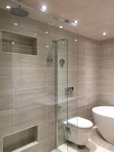 Rectangle option for walk in shower entrance on end For the