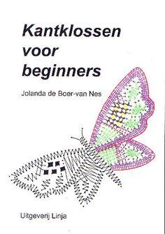 KANTKLOSSEN VOOR BEGINNERS, AANVULLING I (Boer, Jolanda)   - bobbin lace materials - theo brejaart - lace - lacemaking materials - bobbins patterns threads pillows books