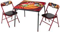 MESA Y SILLAS METAL MICKEY MOUSE DISNEY. TT89482MM, IndalChess.com Tienda de juguetes online y juegos de jardin