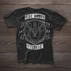 www.danbradleydesign.com // #design, #graphicdesign, #photography, #logo, #branding, #identity, #textures, #danbradleydesignco rise above fitness / rise above fitness apparel