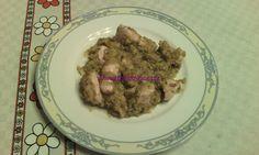 Bocconcini di pollo con paté di zucchine e peperoni
