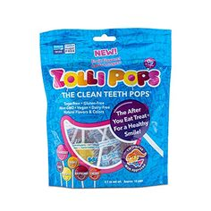 Amazon has the Zollipops Clean Teeth Lollipops AntiCavity Sugar Free Candy with Xylitol for a Healthy Smile Great for Kids Diabetics and Keto Diet oz Bag, Natural Fruit Variety, 3.1 Ounce priced at $3.99. Clip the available coupon and score this for only $2.99 and it ships for free with your Prime Membership or any… Sugar Free Lollipops, Gourmet Lollipops, Sugar Free Hard Candy, Jolly Rancher Hard Candy, Healthy Candy, Travel Snacks, Teeth Cleaning, Cavities, Natural Flavors