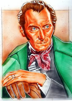 Peter cushing Comic Art